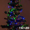 Lumières de Noël Multicouleur (192 LED) - Photo 1