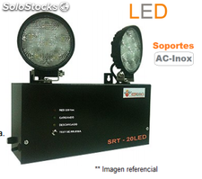 Luminaria de Emergencia Modelo SRT 20 LED