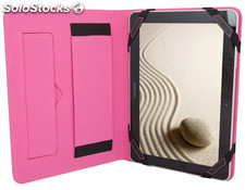 Luxury Universal Sleeve Cover case Negro Rosa