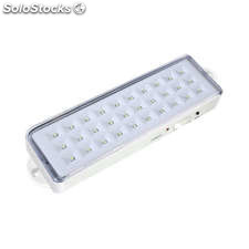 Luz de emergencia led emerlux f305 blanco frío regulable