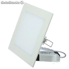 Luz LED de panel cuadrado 6w 12w 18w 24w luz paneles led downlight