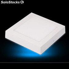Luz panel LED cuadrado montaje en superficie panel LED 6W
