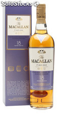 Macallan 18 fine oak 43% vol