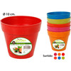 Maceta 10CM bambu little garden - colores surtidos - little garden -