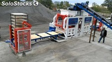 Machine de fabrication de bloc de beton