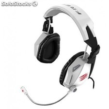 Mad Catz - F.R.E.Q. 7 3,5 mm Binaurale Diadema Color blanco auricular con