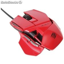 Mad catz r.a.t. 3 gaming mouse rojo