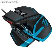 Mad catz r.a.t. tournament edition gaming mouse azul