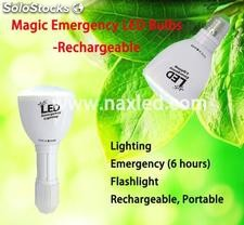 Magic led emergency light, rechargeable, 4w, 33led, e27 screw base