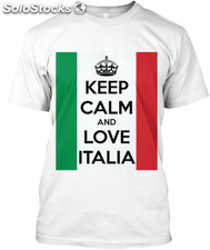 maglietta keep calm italia