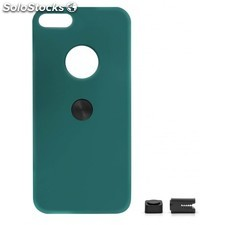 Magnetic car phone holder Iphone 5 5s green turquoise hard