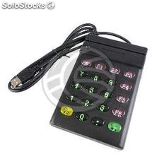 Magnetic card reader with USB keypad ISO7811 7815 track 2 (BC31-0002)
