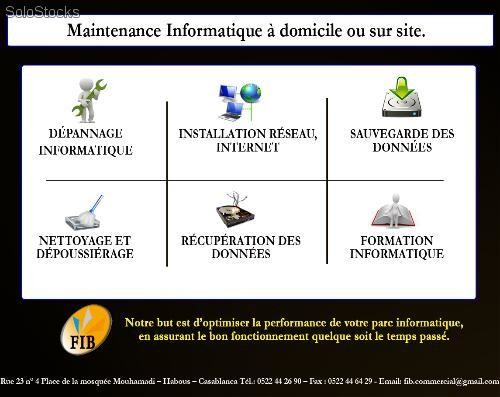 maintenance informatique domicile ou sur site. Black Bedroom Furniture Sets. Home Design Ideas