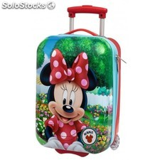 Maleta Trolley Minnie ABS 33x52x20cm.