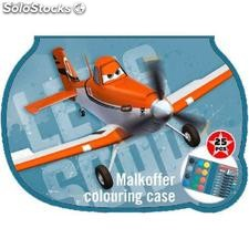 Maletin Colorear Aviones Disney (25 pcs)