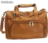 Maletin en cuero. Leather Duffle Bag. Gym bag. - Foto 2