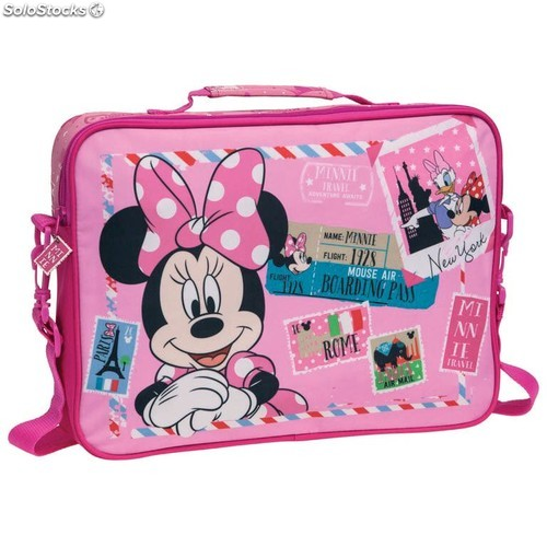 Maletin Extraescolares Minnie Mouse Travel (38x28x7cm) 13436 PPT02-13436