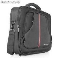 Maletin portatil nylon phoenix prague negro hasta 17