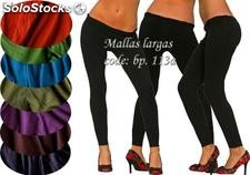 Mallas largas , leggings . lycra de algodón