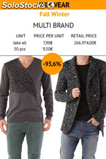 Man Knitwear Fall/Wint., Italian brands Absolut Joy & Bray steve Alan