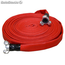 Mang.incendio roja 45MM racorada 30MT