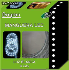 Mangueira de 4m led multicolor