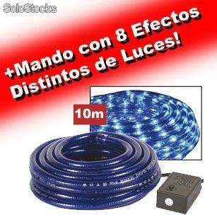 Mangueras de luces para decoraci n 10metros uso para for Manguera led exterior