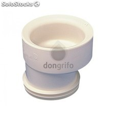 Manguito wc escentrico flexible goma inodoro- anti-olores - ENVIO 24H