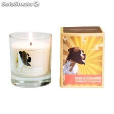 Mans candle vela dog in you, albahaca y cilantro - mans candle - 5060119452041 -