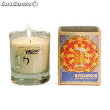 Mans candle vela the good stuff, sándalo - mans candle - 5060119452034 -