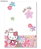 Mantel Desechable Hello Kitty (120x180 cms)