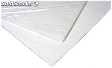 Mantel desechable papel 100x120 cms Blanco. Pack 100 uds