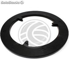 Manual rotating base display 25 cm black and 100Kg load lazy susan (SR62)