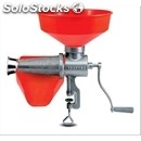 Manual tomato strainer n. 5 - mod. 8501 n - cast iron body - plastic funnel and