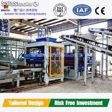 Manufacturing automatic cement block making machine