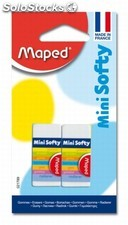 Maped 2 mini gommes softy