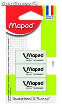 Maped gomme technic mini x 3