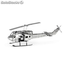 Maqueta 3D Metal Earth helicóptero Huey UH1