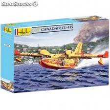 Maqueta avión contraincendios Canadair CL415 escal