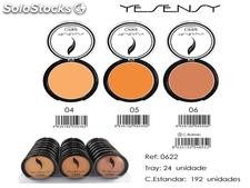 maquillaje compacto ciprie yesensy 3 colores 10gr.