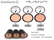 maquillaje compacto ciprie yesensy 3 gamas 10gr.