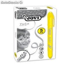Maquillaje Jovi Twist Make 5u. Amarillo