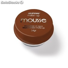 Maquillaje Mousse Alpino Marrón