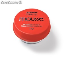 Maquillaje Mousse Alpino Rojo