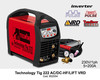 Maquina de soldar Telwin, technology tig 222 AC/ DC monofasica