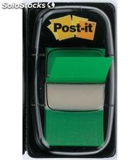 Marcapaginas verde 50uds post-it