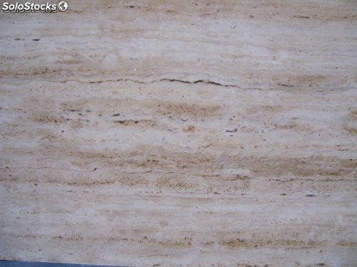 M rmol marmol travertino turco color madera pulido en for Marmol travertino chile