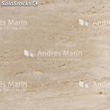 Marmol Travertino Romano Masillado 60x40x2