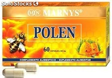 Marnys Bee Pollen 300mg 60 capsules