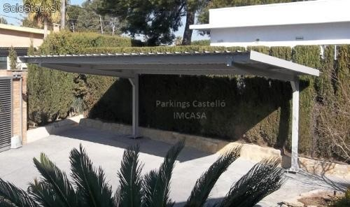 marquesinas parking modelo imcasa